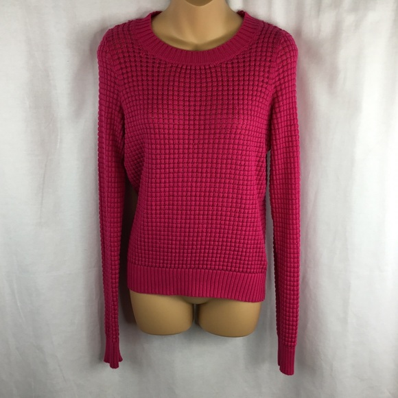 Forever 21 Sweaters Forever21 Womens Hot Pink Knitted Sweater Size